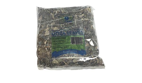 Uziza leaves - 3oz bag, dry vegetable used for soup, stew