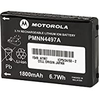 Motorola Solutions PMNN4497 3.7V Li-Ion 1800mAh Battery