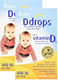 Ddrops Baby 400 IU Drops, 2 Count For Sale