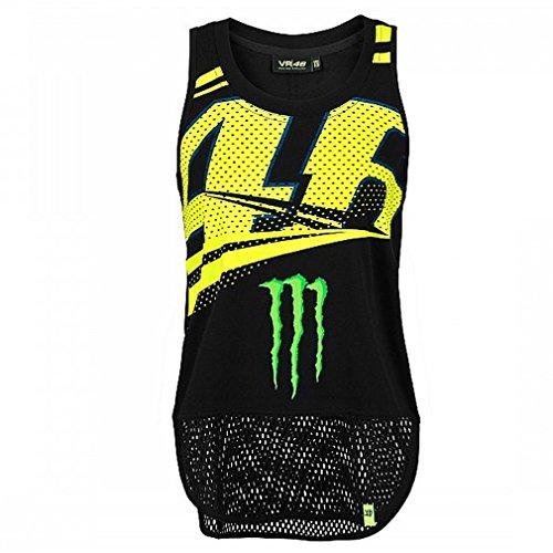 (Valentino Rossi VR46 Moto GP VR/Monster Monza Women's Tank Top Official)