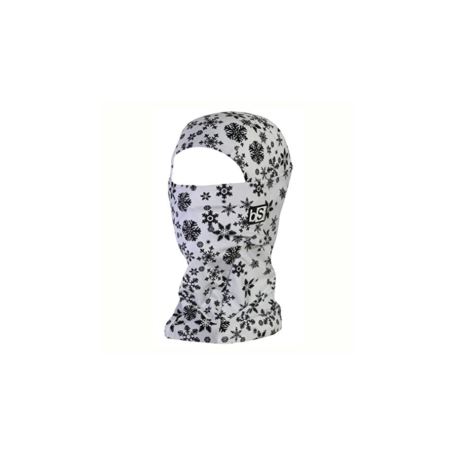 BLACKSTRAP Hood Dual Layer Balaclava Face Mask, Cold Weather Headwear for Men and Women, Snowflakes