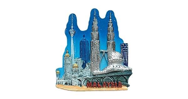 Amazon.com: World - Imán para nevera con diseño 3D de resina ...