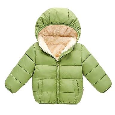 PinkLu Abrigo de Invierno Niñas Niños 3-7 años Invierno Mantener ...