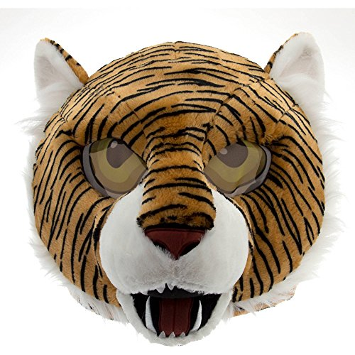 My Furry Costume (Maskimals Tiger Head Mask Large Halloween Costume)