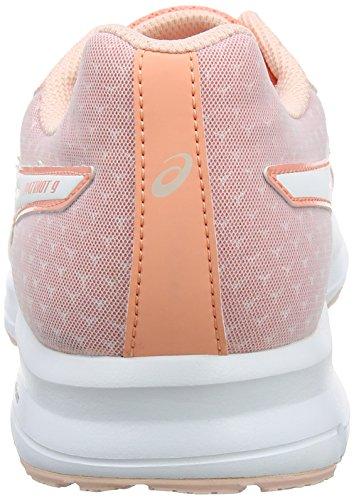Chaussures Asics 0601 Patriot begonia Femme De Rose seashell Running Pink 9 Pink white waEfqa