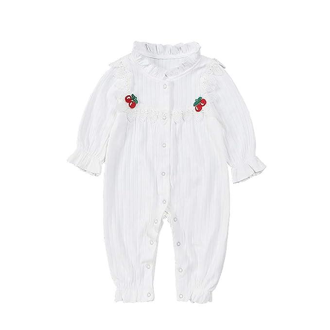 mikistory Recién Nacido Pijama Bebés Algodón Mameluco Niñas Niños ...