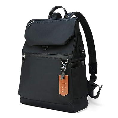 15fb94d1d8 Amazon.com  Waterproof Backpack Anti Theft College Lightweight School  Bookbag Black Daypack for Men Women