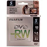 Fujifilm 25302425 1.4GB Mini DVD-RW for Camcorder