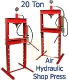 20 Ton Air Floor Hydraulic Shop Press