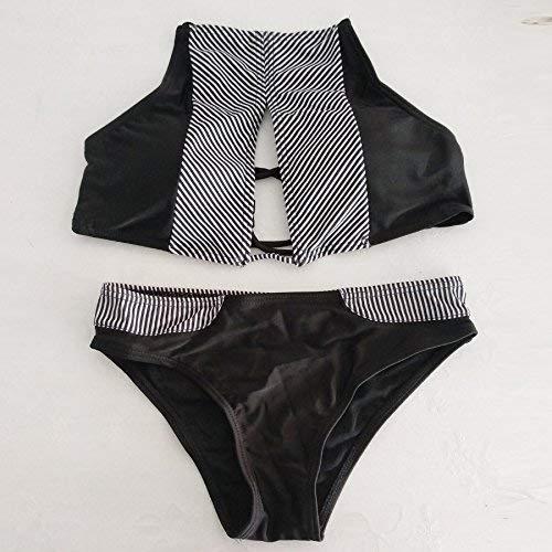 coloré Bikini fashion Blanc Taille Bikini De Maillot Woman Suit M Bain Oudan axqwYf1