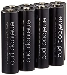 Image of the product Eneloop Pro AA High that is listed on the catalogue brand of eneloop.