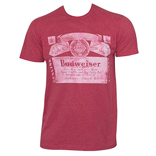 Budweiser Triblend Faded Tee Shirt product image