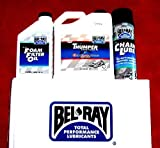 BEL RAY LUBRICANT Scooter Semi-Synthetic 2T Engine Oil - 1L.