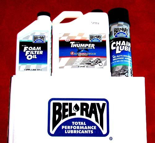 BEL RAY LUBRICANT Scooter Semi-Synthetic 2T Engine Oil - 1L. by Bel-Ray