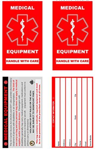 Medical Equipment Luggage Tag - Set of 2 (MELT-111)