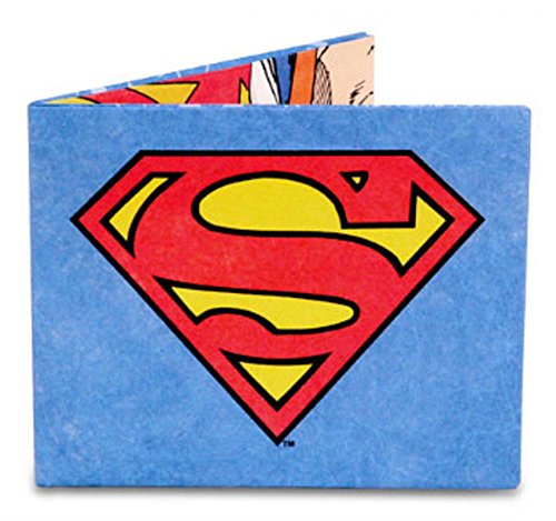 Superman Tyvek Mighty Wallet 3 x 4in