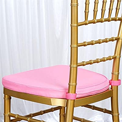 Amazon Balsacircle Blush Pink Cushion Chiavari Chairs Wedding