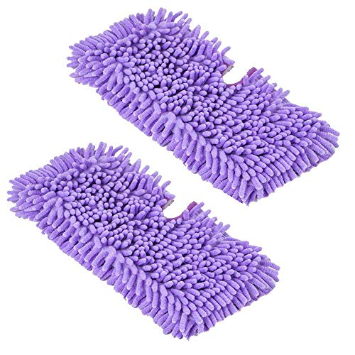 Pro Euro Steamers (FirstDecor Replacement Purple Microfiber Cleaning Pads for Shark Floor Steamer S3550 S3501 S3601 S3901)