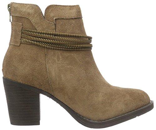 XTI 65204, Zapatillas de Estar por Casa para Mujer Beige (TAUPE)