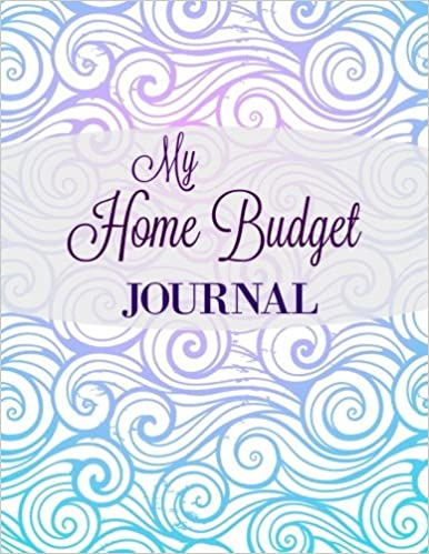my home budget journal extra large household budgeting notebook