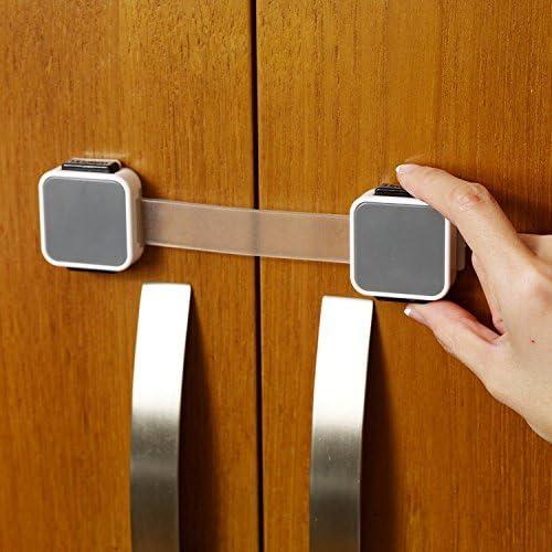 Cierre doble de seguridad multiuso Lindam Xtra Guard Protecci/ón y bloqueo