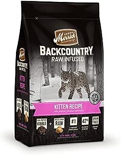 product image for Merrick Grain Free Backcountry Kitten Recipe Cat Food, 3 lb Bag