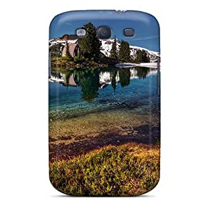 Snap On Case Cover Skin For Galaxy S3(gorgeous Mountain Lake Retreat)
