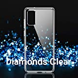 TORRAS Diamonds Clear Designed for Samsung Galaxy