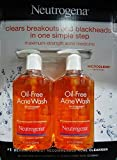 Neutrogena Oil-Free Acne Wash, 9.1 Fluid Ounce, Pack of 2 Review
