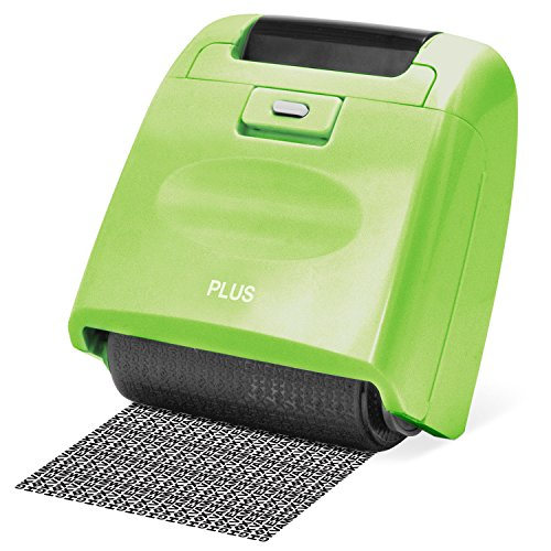 Plus Guard Your ID Wide Roller Stamp, Green