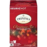 Twinings Christmas Tea starts with a selection of our expertly blended black tea and infused with the traditional spiced flavours of cinnamon and cloves. This tea has a spicy aroma that will get you into that special holiday mood. Enjoy black or with...