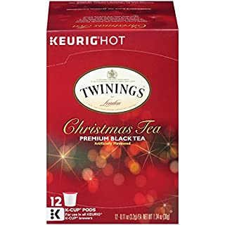 Twinings of London Christmas Tea K-Cups for Keurig, 12 Count