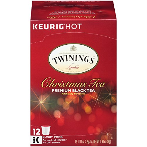 Twinings of London Christmas Tea K-Cups for Keurig, 12 Count
