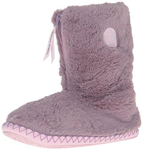 Bedroom Athletics Womens Monroe Slipper Boots Aquarelle/Dusky Pink