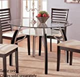 Dining Table – Contemporary Dark Espresso Finish