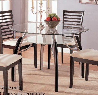 Dining Table – Contemporary Dark Espresso Finish