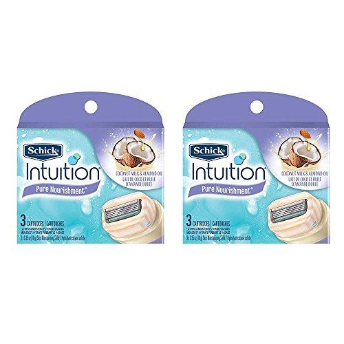 Schick Intuition Nourishment Coconut Cartridges product image