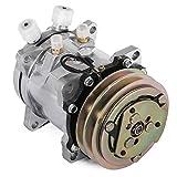Mophorn CO 5104C SD5H09 Universal AirConditioner AC Compressor for Sanden 5072 5071 5046 SD505 7104474Z 75R-82102 1984 1985 HONDA ACCORD SEi LX S Base 1.8L 4CYL