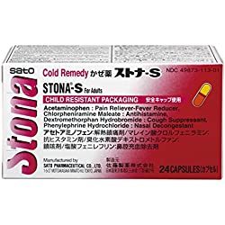 Stona-S Cold Remedy Tablets, 24 Count