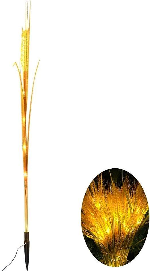 YAYADU Farolas Jardin Exterior Encendiendo Impermeable 5W Conducido, Liderado Jardín Decoración Patio Villa Luz del Paisaje Navidad,1 Paquete (Color : Yellow, Size : 80cm): Amazon.es: Hogar