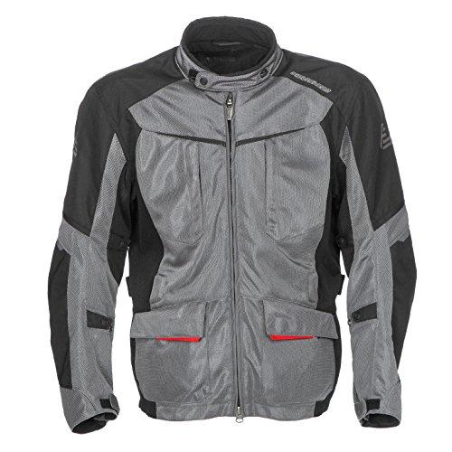 Fieldsheer Men's Hi-Pro Mesh Jacket (Gunmetal/Black, Large)