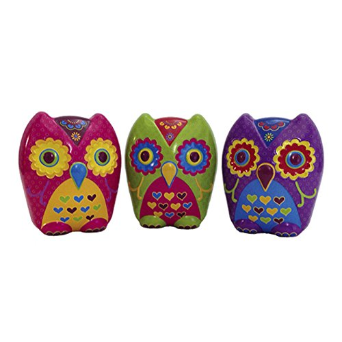 1.75' Flower (Boston America Hootencandy Owl Colorfully Sweet Candy Flowers Display, Fruit, 2.2 Pound)