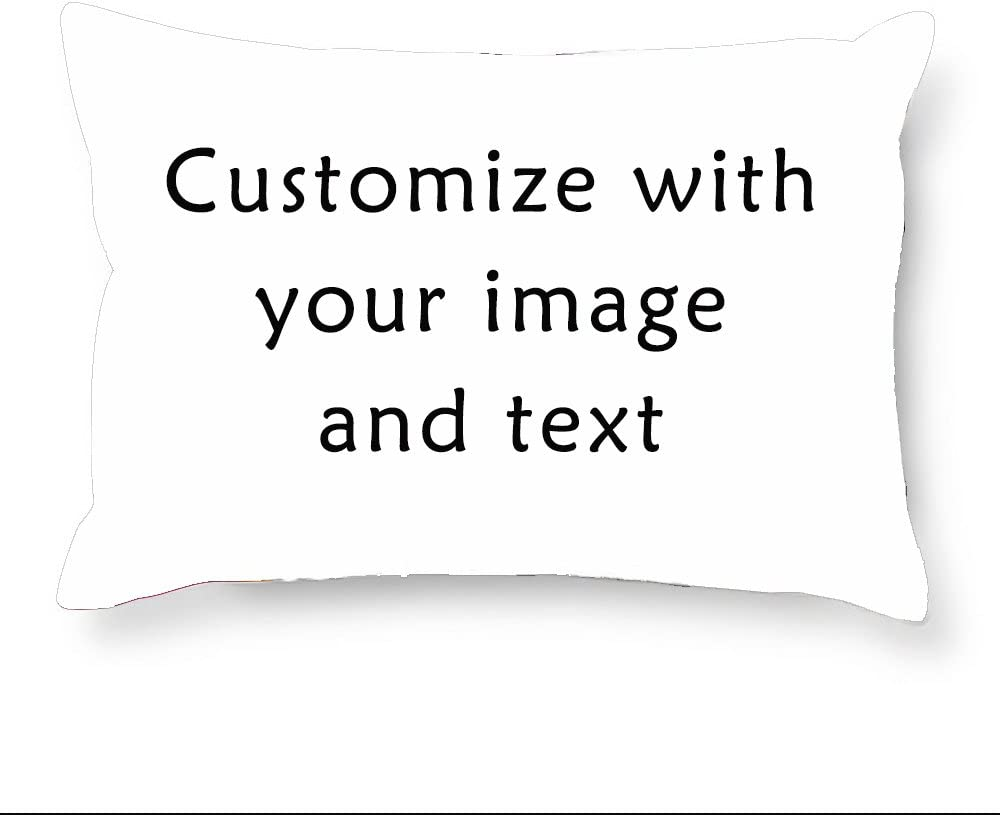 CafeTime Queen Size 20x30Inch Bulldog Pillow Covers Cute Animals Throw Pillow Cases Art Pet Cushion Cover with Zipper for Bedroom Living Room Decoration