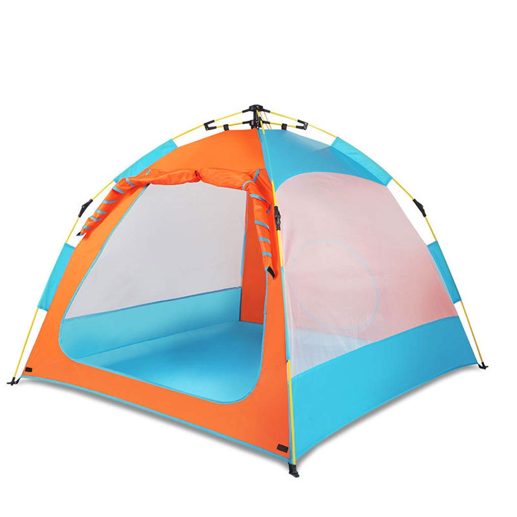 barato en línea azul naranja L kids tent NiñOs Pop Pop Pop Up Jugar Cochepa Bajo Techo en Exteriores Parque de Juegos Jugarhouse,Tejido de PoliéSter VentilacióN con ProjoeccióN Solar,PortáTil para el Parque de Turismo Camping Etc  ahorra hasta un 50%