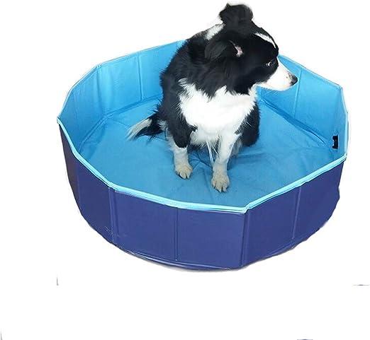YQQY Piscina para Perros El Verano Plegable PVC Mascota Piscina ...