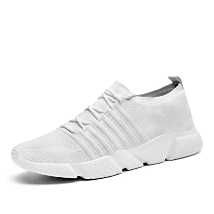 553700f7b69d8 Amazon.com: WUYIXIAO ShoesBrand Men Sneakers Lightweight Mesh Adult Comfort  2019 Spring New Male Casual Shoes Breathable Lace Up Krasovki for Men:  Sports & ...