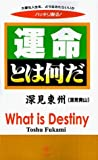 img - for What is Destiny? by Fukami, Toshu (1999) Paperback book / textbook / text book