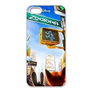 Generic for iPhone 4 4s Cell Phone Case White Zootopia Custom HSKDKKALL4461