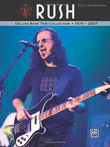 Rush -- Deluxe Bass TAB Collection 1975 - 2007: Authentic Bass ()