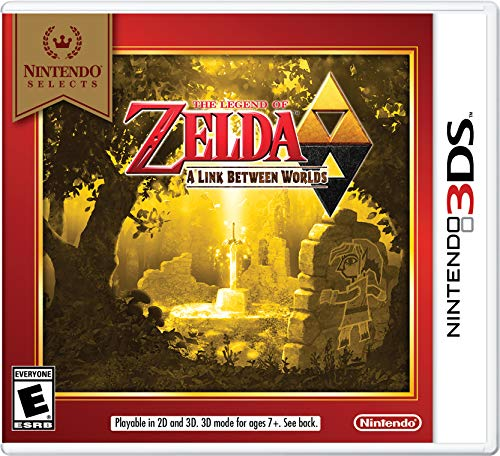 Nintendo Selects: The Legend of Zelda: A Link Between Worlds - 3DS from Nintendo